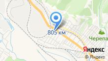 Б.Т.Р. на карте