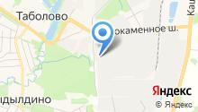 Мосмек, ЗАО на карте