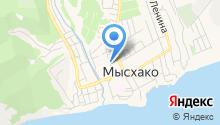 Администрация Мысхакского сельского округа на карте