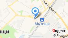 Дом быта на Новомытищенском проспекте на карте