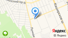 Русская-житница на карте