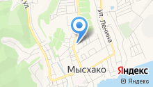 Аквагород на карте