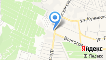 Автостоянка на Мысхакском шоссе на карте