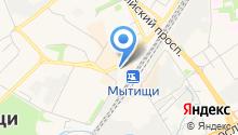 Гаражавтострой, МУП на карте