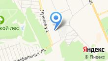 Домодедовская средняя общеобразовательная школа №8 на карте