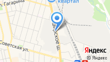 Домопринт на карте