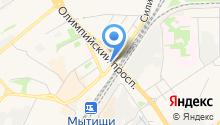 Автостоянка на Шараповском проезде на карте