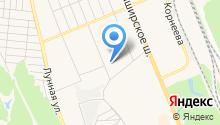 Почтовое отделение №142003 на карте