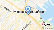 Pedant Новороссийск на карте