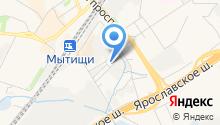 У Егора на карте