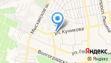 Кубаньдорбезопасность на карте