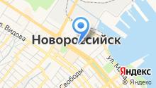 Администрация г. Новороссийска на карте