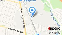 Домодедовское предприятие промышленного железнодорожного транспорта на карте