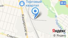 Домодедовский завод ЖБИ на карте