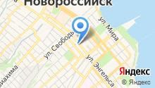 Управление по делам ГО и ЧС по Краснодарскому краю на карте