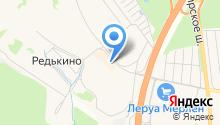 Южное Домодедово на карте
