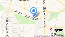 Магазин автотоваров на Волгоградской на карте