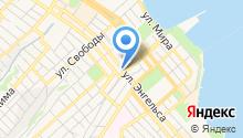 Администрация Центрального внутригородского района г. Новороссийска на карте