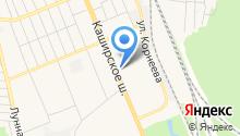 Ямской на карте