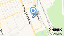 Курьер-МВ на карте
