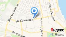 Атэк на карте