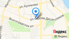 Антуриум на карте
