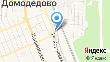 Автомойка на ул. Корнеева на карте