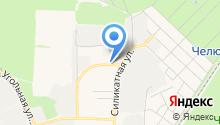 Бухен Хауз на карте