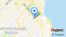 Азур на карте