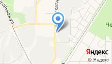 Автостоянка на Силикатной на карте