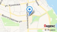 Алеопт на карте