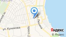 Адвокатские кабинеты Киселева Д.Б. и Русиной А.Е. на карте