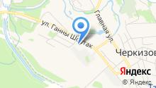 Веб Посад на карте