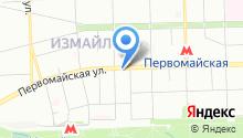 Спортивная школа на карте