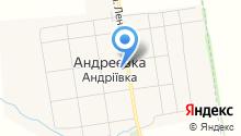 Андреевский центр духовного возрождения на карте