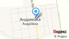 Андреевские бани на карте