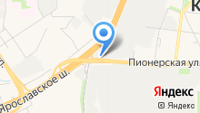 Dverin на карте