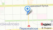 1 Мая на карте