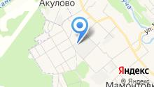 Рублевский Камнерез на карте