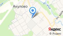 Поликлиника микрорайона Мамонтовка на карте