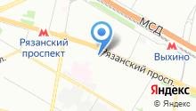 Евросервис - ремонт бытовой техники на дому в Москве на карте