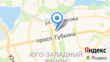 Нефрет на карте
