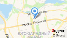 Веллтекс на карте