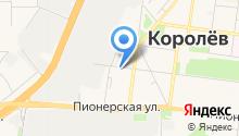 На Гагарина на карте