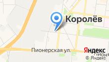 Магазин отделочных материалов на ул. Гагарина на карте