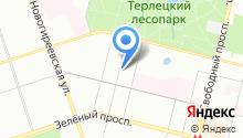 Юниум на карте