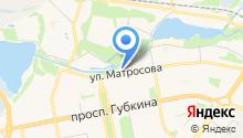 Ателье на ул. Набережный микрорайон на карте