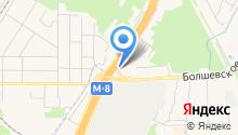 Авточехлы-Ковчег-М на карте