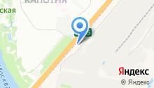 Магазин новогодних аксессуаров на карте