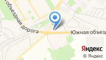 АЗС СОНБ на карте